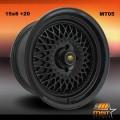 15x8 MST MT05 Gloss Black  Rims 4x100