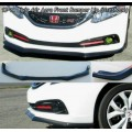 Poly Front Lip for 2013-2015 Honda Civic 4 Door Type A Aero Style