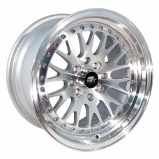 15x8  MST MT10 *  CCW STYLE POLISHED WHEELS * 4 LUG UNIVERSAL