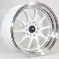 15x8 MST MT11 Deep Dish Rims With Polished Lip  4x100 & 4x114.3