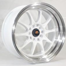 15x8 MST MT11 Deep Dish Rims With Polished Lip  4x100 & 4x114.3