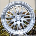 15x8 STR 520  Machine Polished Rims 4x100 & 4x114.3