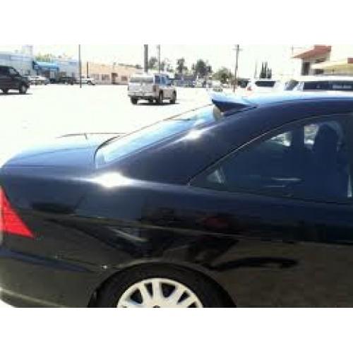 Rear window visor for 2 door for 2001 honda civic rear window visor