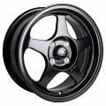 15x6.5 MST MT29 Matte Flat Black Rims 4x100