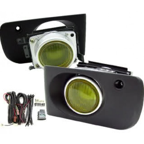 1994-1997 Acura Integra Yellow Fog Light Set