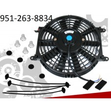12 Inch universal Slim Fan with mounting hardware