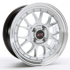 15x7.5 STR 502 Full Polished/Silver Rims 4x100