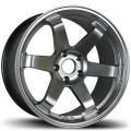 17x8 Avid1 AV06 Hyper Black / Gunmetal Rims 5X114.3  * Volk TE37 Style
