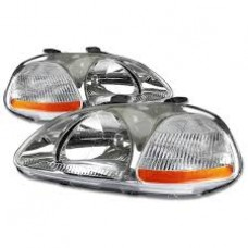 1996-1998 Honda Civic OEM Spec Headlights