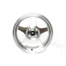 15x6.5 MST MT29 Machine Polished Silver Rims 4x100