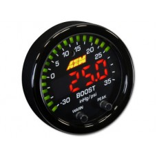 AEM X-Series Boost Pressure Gauge -30 inHg ~ 35 psi / -1 ~ 2.5 bar