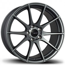 18x8.5 Avid1 AV21 Gunmetal Wheels 5x114.3